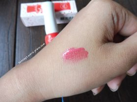 Swatch Fresh Cherry Tint RD301 Red