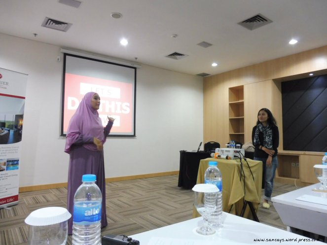workshop indonesian female blogger 3