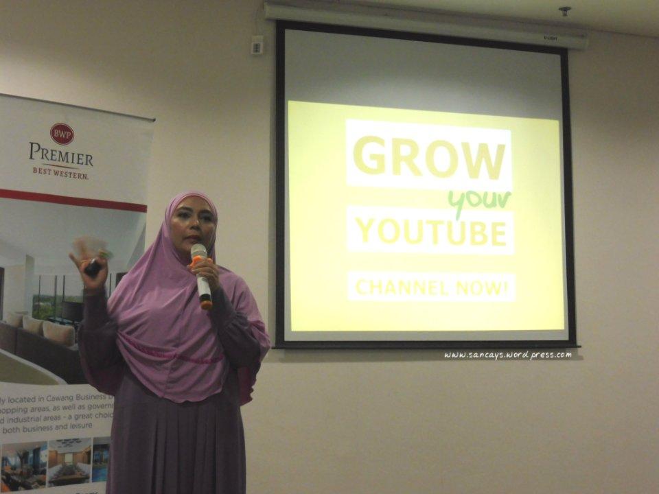 Workshop indonesian female blogger