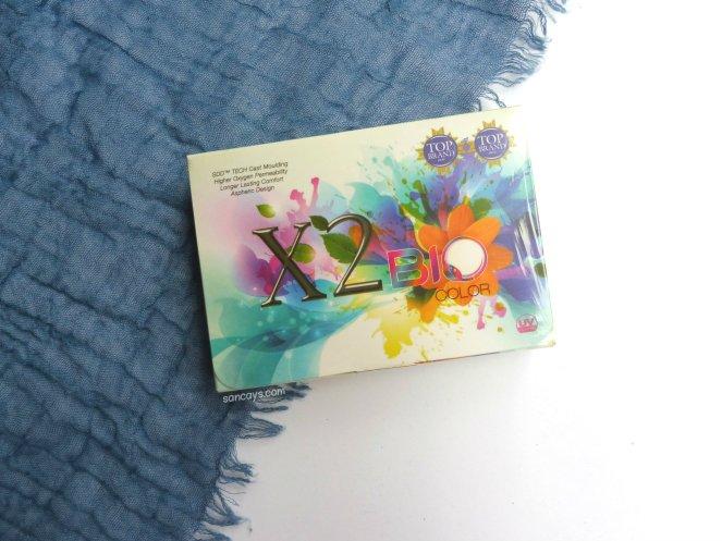 x2 bio color hazel