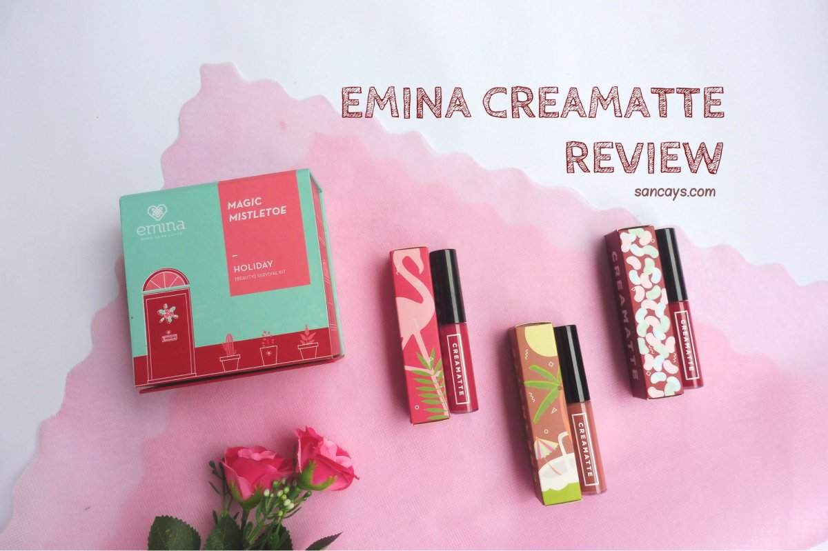 Emina Creamatte Jelly Bean Flamingo Dan Fuzzy Wuzzy Review Cream Matte Lipstik Lipcream 03 Mauvelous Sancays Blog