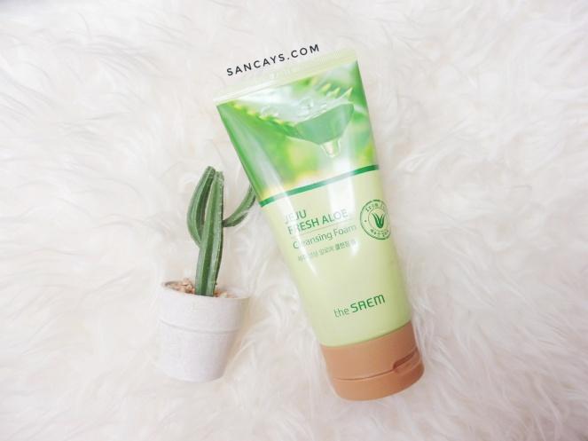 The Saem Jeju Fresh Aloe Cleansing Foam