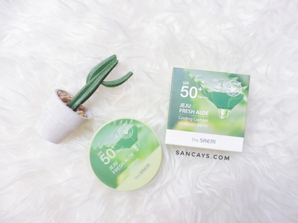The Saem Jeju Fresh Aloe Cooling Cushion